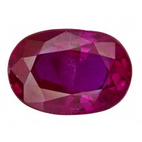Ruby-Oval: 1.66ct