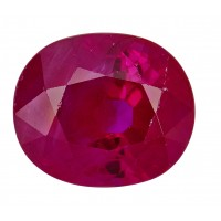 Ruby-Oval: 1.67ct