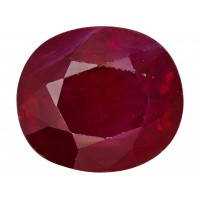 Ruby-Oval: 1.71ct