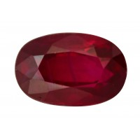 Ruby-Oval: 1.62ct