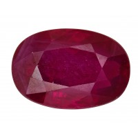 Ruby-Oval: 1.65ct