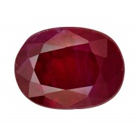 Ruby-Oval: 1.34ct