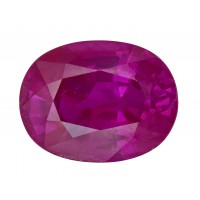 Ruby-Oval: 2.38ct