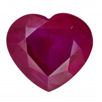 Ruby-Heart: 2.2ct