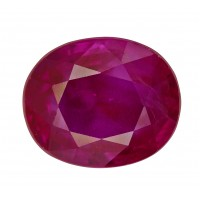 Ruby-Oval: 2.08ct