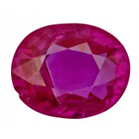 Ruby-Oval: 2.04ct