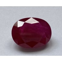 Ruby-Oval: 9.6ct