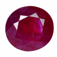 Ruby-Oval: 4.15ct