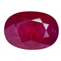 Ruby-Oval: 4.24ct
