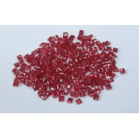 Ruby-Square: 3.0mm - 3.5mm