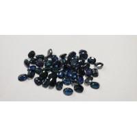 Sapphire-Oval: 8mm x 6mm