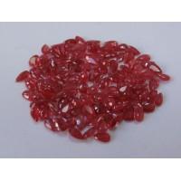 Ruby-Pear: 5mm x 3mm