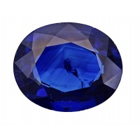 Sapphire-Oval: 3.11ct