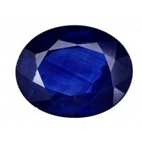 Sapphire-Oval: 3.34ct