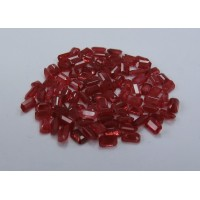 Ruby-Octagon: 5mm x 3mm