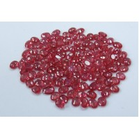 Ruby-Oval: 5mm x 3mm