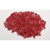Ruby-Diamond Cut: 2.5mm - 4.0 mm