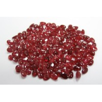 Ruby-Oval: 6mm x 4mm