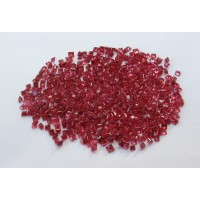 Ruby-Princess Cut: 2.4mm - 2.6mm