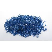 Sapphire-Princess Cut: 2.0mm - 3.0mm