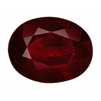 Ruby-Oval: 3.02ct