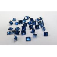 Sapphire-Princess Cut: 4.0mm - 4.5mm