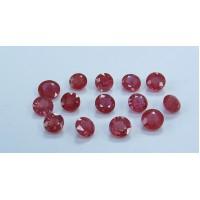 Ruby-Round: 5.5mm - 7.0mm