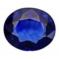 Sapphire-Oval: 3.09ct