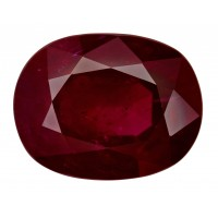 Ruby-Oval: 4.14ct