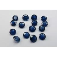 Sapphire-Round: 7.0mm - 8.0mm