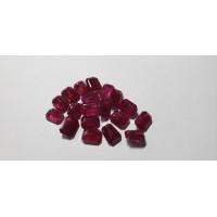 Ruby Octagon: 8mm x 6mm