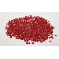 Ruby-Diamond Cut: 3.0mm - 4.5mm
