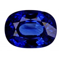 Sapphire-Oval: 4.36ct