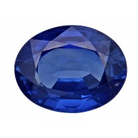 Sapphire-Oval: 3.27ct