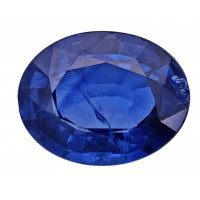 Sapphire-Oval: 3.08ct