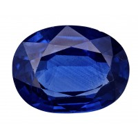 Sapphire-Oval: 3.42ct