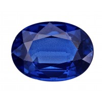 Sapphire-Oval: 2.84ct