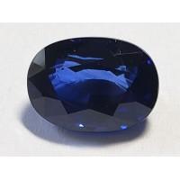 Sapphire-Oval: 4.02ct
