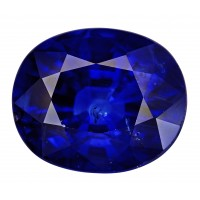 Sapphire-Oval: 4.08ct