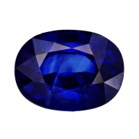 Sapphire-Oval: 3.49ct