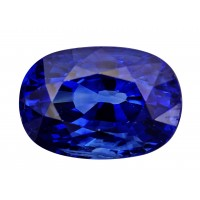 Sapphire-Oval: 3.99ct