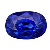 Sapphire-Oval: 3.18ct