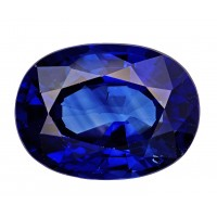 Sapphire-Oval: 3.04ct