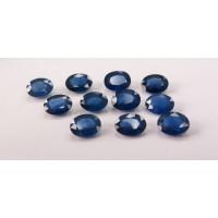 Sapphire-Oval: 9mm x 7mm