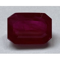 Ruby-Octagon: 5.5ct