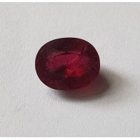 Ruby-Oval: 3.41ct