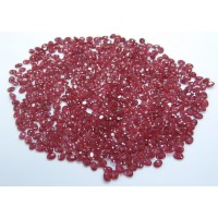 Ruby-Oval: 4mm x 3mm