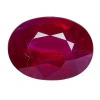 Ruby-Oval: 2.2ct