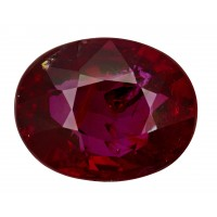 Ruby-Oval: 2.05ct