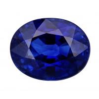Sapphire-Oval: 2.33ct